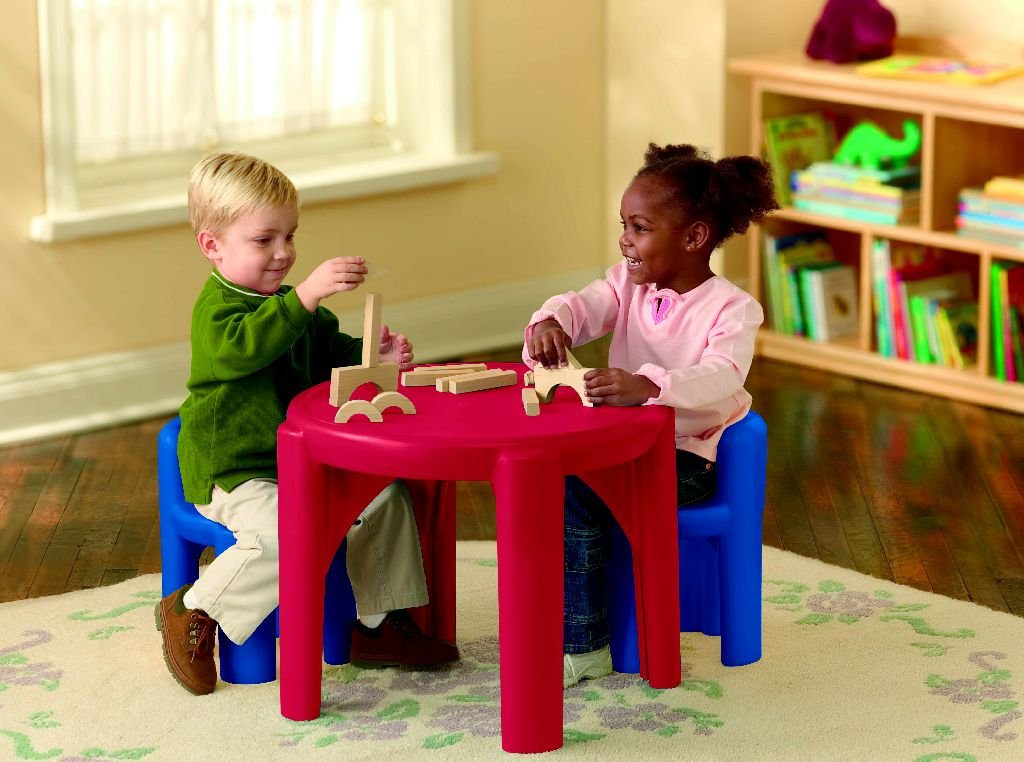 An Image of Little Tikes Table and Chairs Set