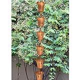 Monarch Monarch 3-Foot Copper Tulip Rain Chain Extension