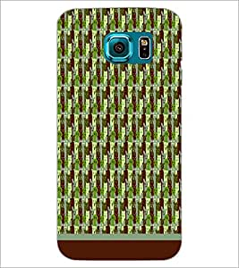 PrintDhaba Pattern D-1769 Back Case Cover for SAMSUNG GALAXY S6 (Multi-Coloured)