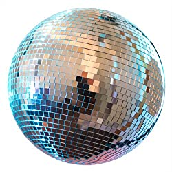 "12"" Mirror Disco Ball Dj Party Motor Combo Light Kit Disco Party"