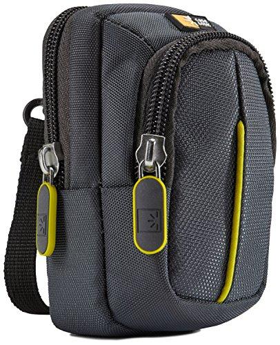 Case-Logic DCB-302 Custodia in Nylon per Fotocamera Compatta ed Accessori, Grigio