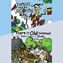 There Was an Old Woman (Who Lived in a Shoe); & There Was a Crooked Man Audiobook by Melissa Everett Narrated by Erin Yuen