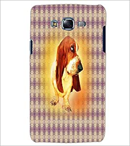 PrintDhaba Cute Dog D-4362 Back Case Cover for SAMSUNG GALAXY J5 (Multi-Coloured)