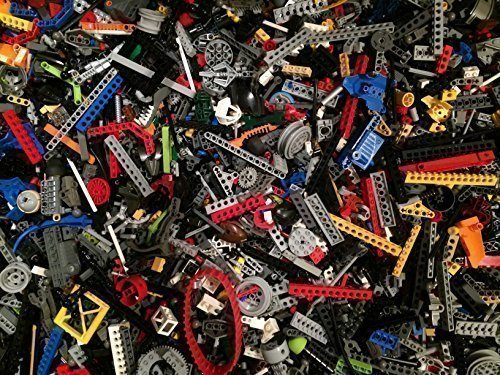 Lego 75 Random Pieces of Good Clean Used Technic and Bionicle Parts Bulk Lot (Lego Robot Minifigure Pieces compare prices)