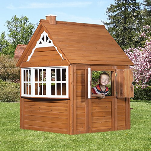 Outdoor Playhouses Toy : Backyard discovery my cedar playhouse all wood