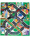 Toy Vehicles and Mat Play Set - 6 Vehicles Included!