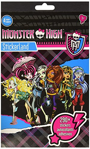 Sandylion Monster High 4 Page Pad Stickerland