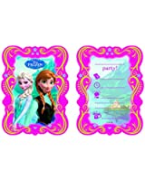 Party2U - 380107 - Invitations Frozen - Pack De 6