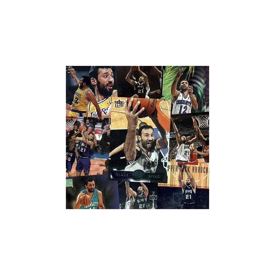 Sacramento Kings Vlade Divac 20 Card Player Set