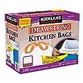Kirkland Signature Drawstring Kitchen Trash Bags - 13 Gallon