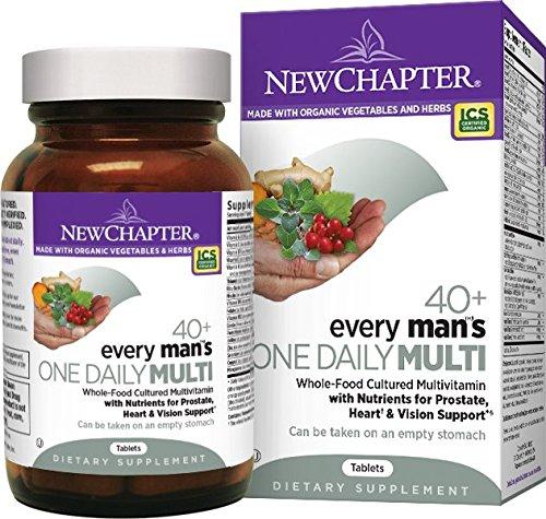New Chapter One Daily系列 40岁以上男士 每日一片综合有机营养片 96片图片