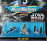 Star Wars Micro Machines Set VIII Speeder Bike, Tie Starfighter & Imperial Shuttle Tydirium