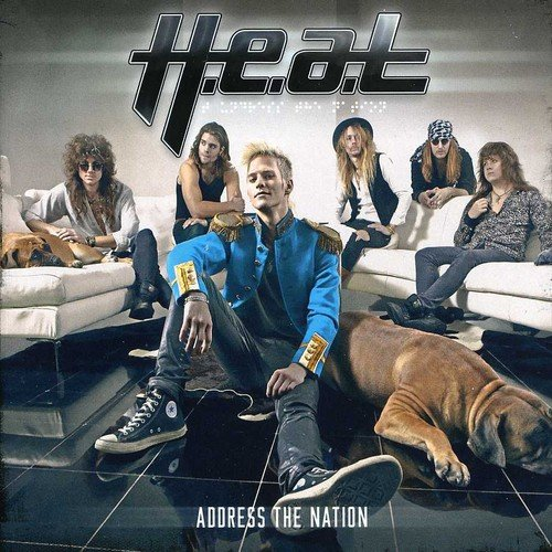 H.E.A.T. - Address the Nation (Holland - Import)
