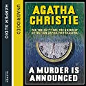 A Murder Is Announced (       UNABRIDGED) by Agatha Christie Narrated by Emilia Fox