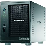 NETGEAR ReadyNAS Duo 2-Bay (Diskless) Desktop Network Attached Storage RND2000