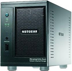 NETGEAR ReadyNAS Duo 2-Bay (Diskless) Desktop Network Attached Storage RND2000
