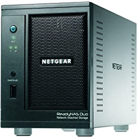 Netgear ReadyNAS Duo 2-Bay (Diskless) Desktop Network Storage RND2000