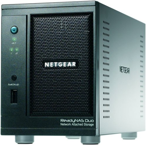 NETGEAR ReadyNAS Duo 2Bay (Diskless) Desktop Network Attached Storage RND2000