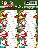 Etiquetas Navidad Papa Noel