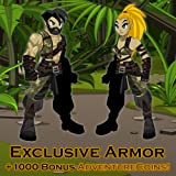 Amazon Warrior Armor: AdventureQuest Worlds [Game Connect]