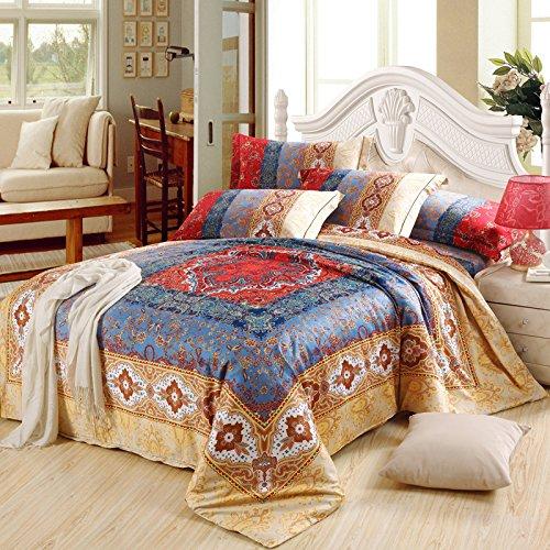 Cliab Moroccan Bedding Bohemian Bedding Sets Queen Egyptian Cotton ...