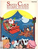 img - for Santa Claus is Comin' to Town and Other Christmas Favorites (Piano/Vocal with some Guitar) book / textbook / text book