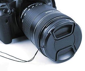 58mm Center Pinch Lens Cap for AF-S 50mm f/1.8G Lens,AF-S 50mm f/1.4G & 55-300mm f/4.5-5.6G Nikon D7000 D5100 D3100 D3200 D3300 D90 D5200 Camera,ULBTER Snap-on Lens Cap&Lens Cover Keeper-3Pack (Color: AF-S 50mm f/1.8G,50mm f/1.4G & 55-300mm f/4.5-5.6G)