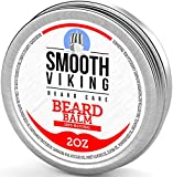 Smooth Viking Beard Balm with Shea Butter and Argan Oil, 2 Ounce