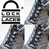 LOCK LACES 3 PACK (Patented Elastic Shoelace and Fastening System)