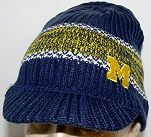 NCAA Officially Licensed Onfield University of Michigan Wolverines Embroidered Billed... by adidas