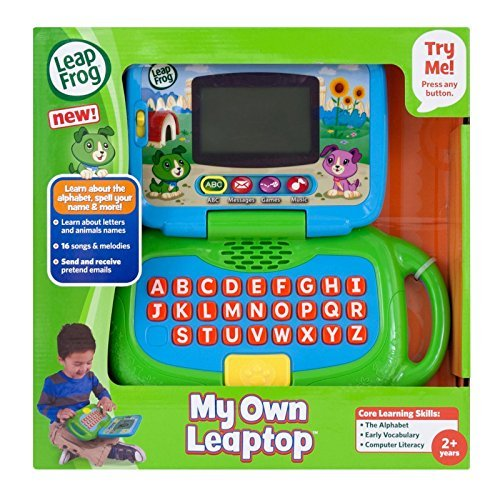 LeapFrog My Own Leaptop, Green - 1