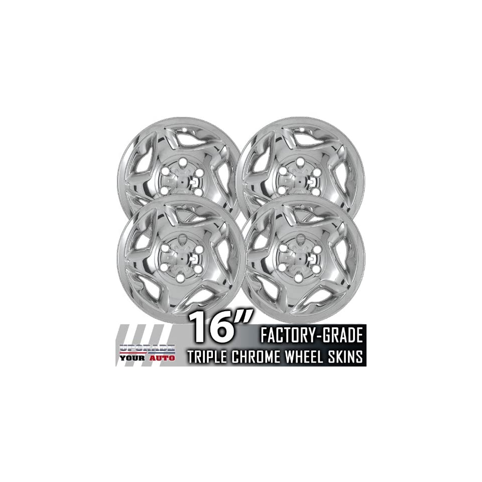 01 04 TOYOTA TACOMA 16 Chrome Wheel Skin Covers
