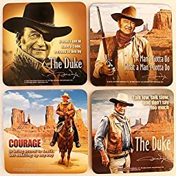 John Wayne Coasters by Midsouth Products