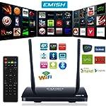 Emish TV Box, Android Smart TV Box, G...