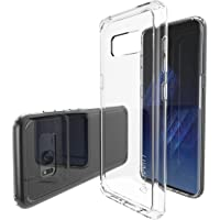 Luvvitt Galaxy S8 Case Hybrid Scratch Resistant Back Cover