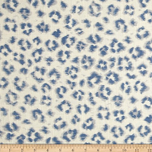 Jaclyn Smith Animal Print Blend Denim Fabric front-1026593