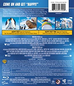Happy feet 1 & 2 Blu-ray from Warner Home Video