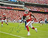 Jamaal Charles Autographed/Hand Signed Chiefs Action 16x20 Photo at Amazon.com