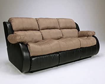 Presley- Two Tone Reclining Sofa