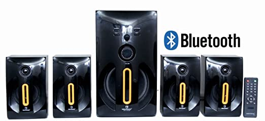 Universal HT � 4103BT, 4.1 Multimedia Speakers Built in Bluetooth Digital FM and USB / SD card reader with Remote