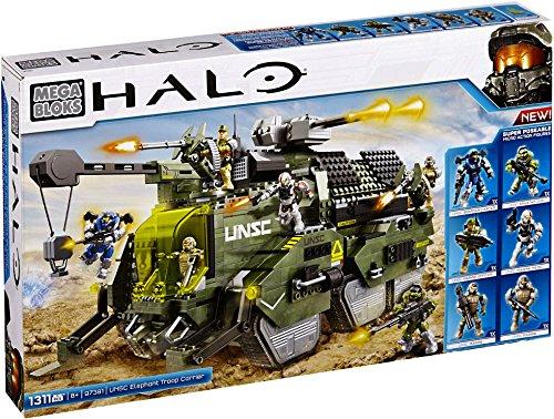 Mega Bloks Halo UNSC Elephant Troop Carrier