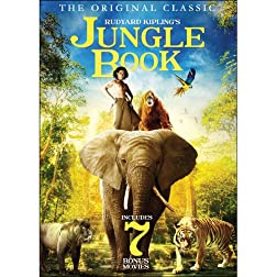 The Jungle Book - Includes 7 Bonus Movies
