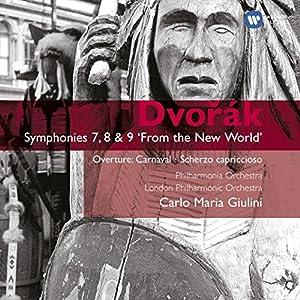 Dvorak: Symphonies Nos 7,8 & 9 Etc.