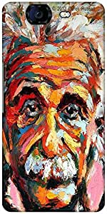 Snoogg Einstein Scientist'S Vision Designer Protective Back Case Cover For Micromax Canvas Knight A350