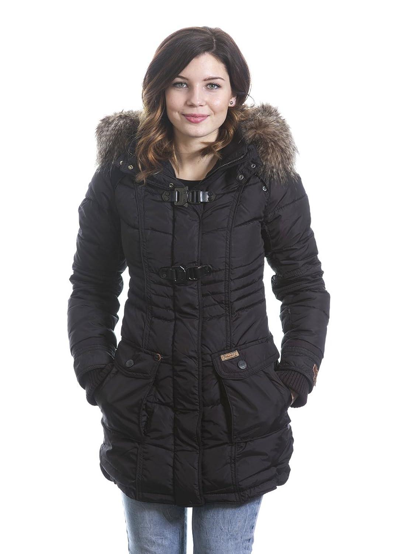 Khujo Aque Parka Mantel Jacke schwarz bestellen
