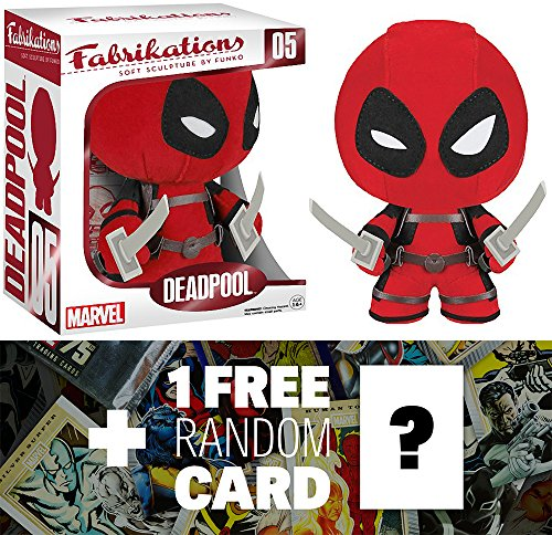 Deadpool: Funko Fabrikations x Marvel Universe Figure + 1 FREE Official Marvel Trading Card Bundle