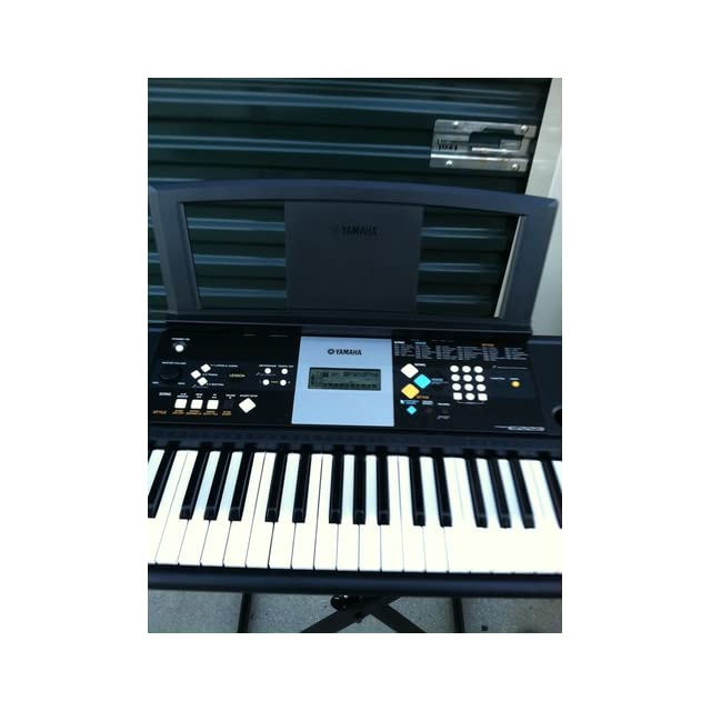 Yamaha PSR E223 61 key Portable keyboard with 375 Voices Musical Instruments