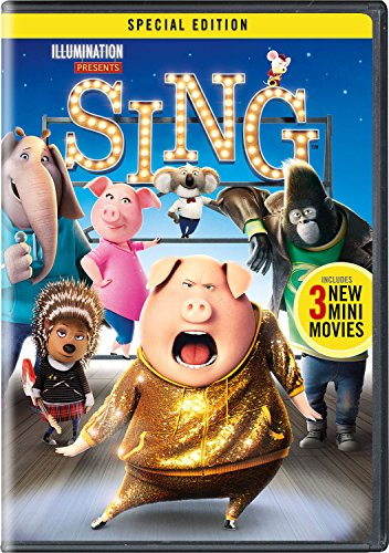 DVD : Sing (Special Edition, Snap Case, Slipsleeve Packaging)