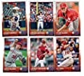 2015 Topps Baseball Cards Los Angeles Angels Team Set (Series 1- 11 Cards) Including Tyler Skaggs, Gordon Beckham, C.J. Cron, Howie Kendrick, Garrett Richards, Jered Weaver Team Card, Erick Aybar, Mike Trout, Josh Hamilton, C.J. Wilson