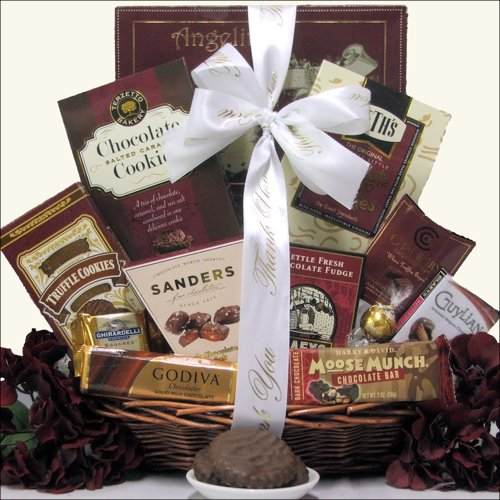 GreatArrivals Gift Baskets Chocolate Delights: Administrative Professionals Day Gourmet Gift Basket, 1.81 Kg
